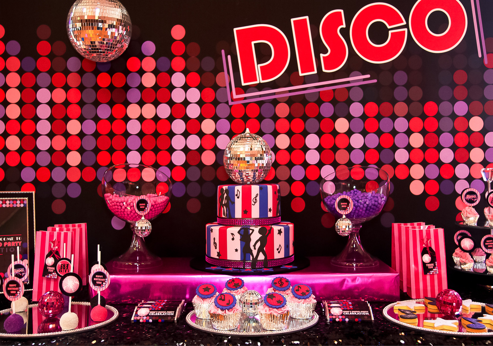 Superstar vip birthday soiree just 4 kids salon for 21st birthday decoration packages