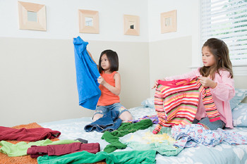 Teaching Kids Value in Doing Laundry