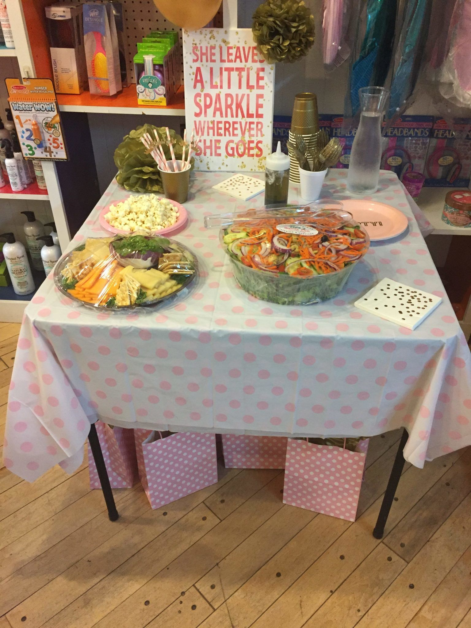 Pamper Me Party Sparkle Adult Area