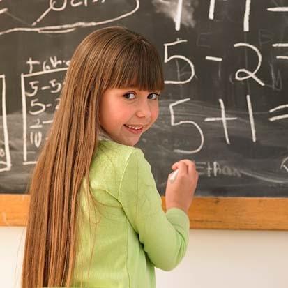 Mathematics at Just 4 Kids Salon