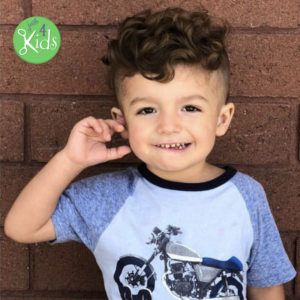 Top Kids Hairstyles 2018 - Summer - Long Hairstyles for Boys - Long hair haircuts for boys - Curly Undercut Hairstyle