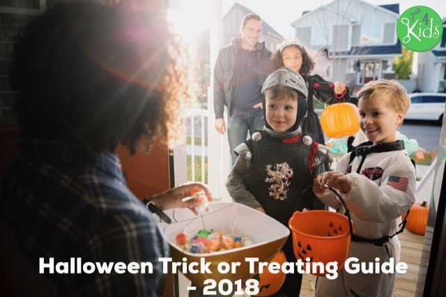 Happy Halloween - Trick or Treating Guide - 2018