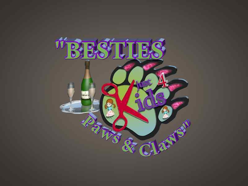Besties Paws and Claws Party