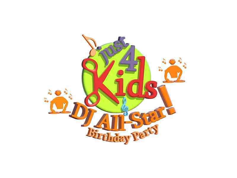 DJ All-Star Birthday Party Logo