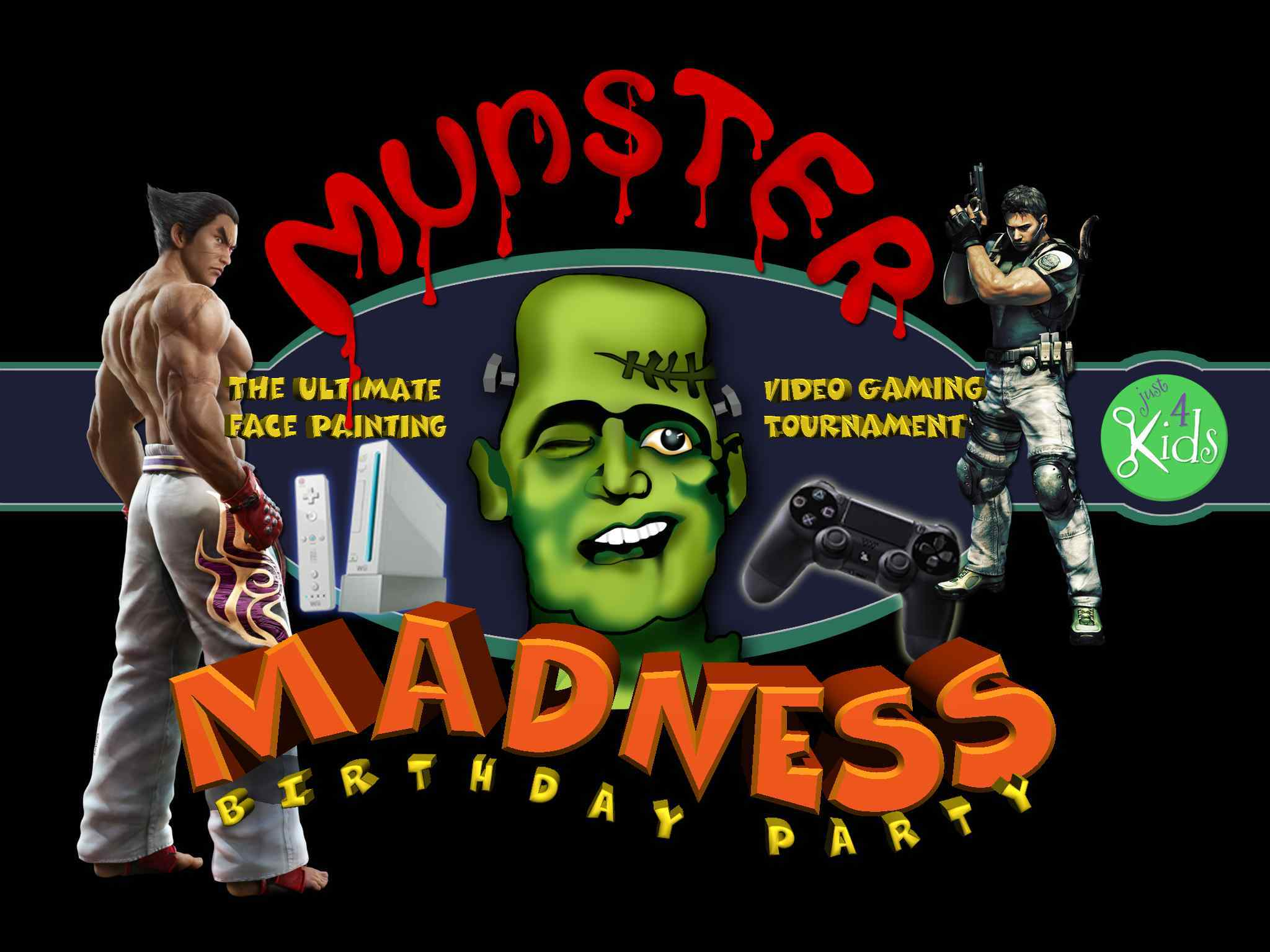 Munster Madness Birthday Party