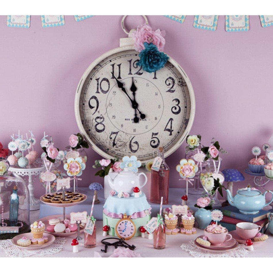 Alice in Wonderland Birthday Tea Party End Tag