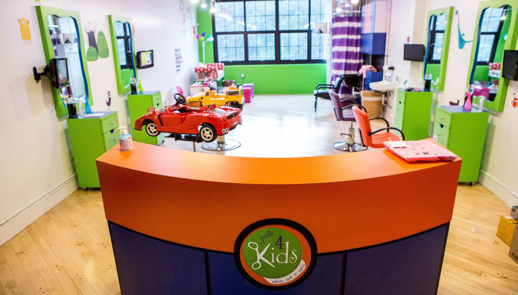 Our kids salon, kids spa and children's birthday center in Hoboken, NJ