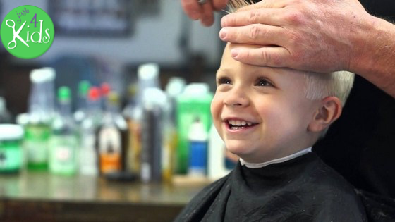 Just 4 Kids Salon - Haircut Opt In Page