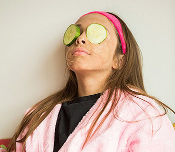 Kids Skin Care Menu - We use only all-natural ingredients